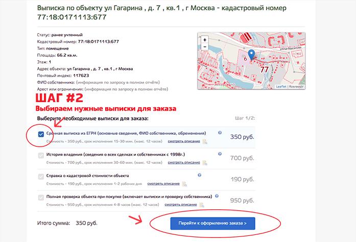 Сведения ЕГРН онлайн из Росреестра - как оформить