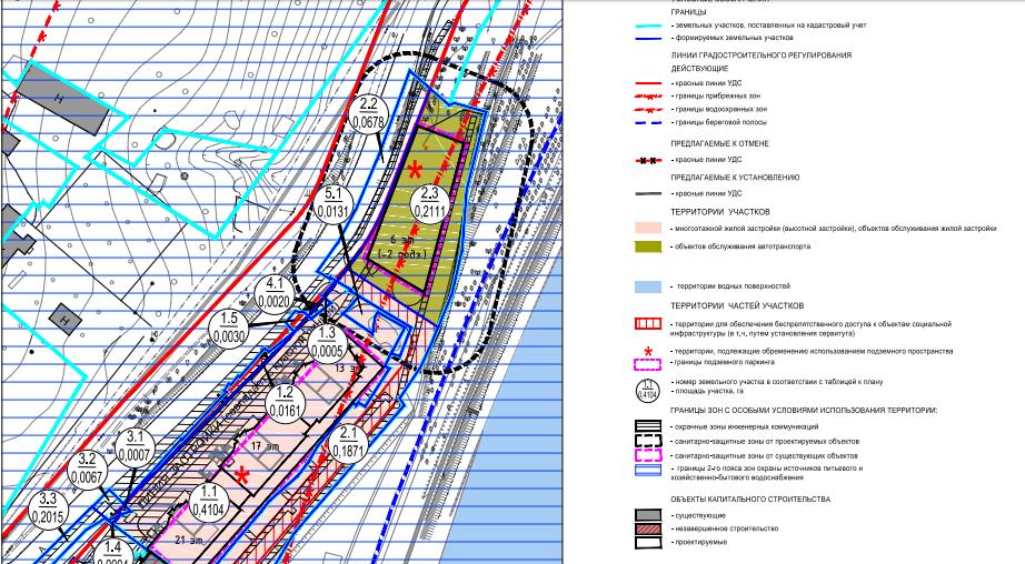 Проект межевания участка в Химках