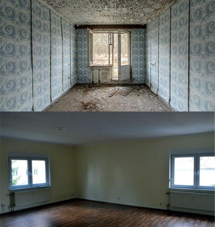 Сверху — шанс продать квартиру причем на первом этаже маловероятен. Лучше подготовить квартиру как на картинке ниже